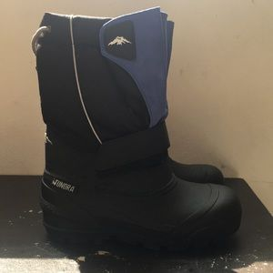 Boys Blue Tundra Winter Boots